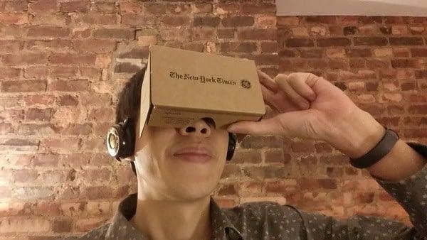 Google Cardboard for NYT